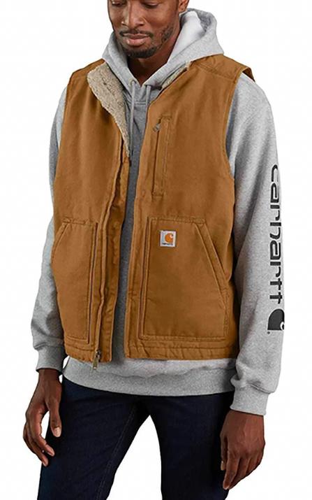 Carhartt® Sherpa-Lined Mock Neck Vest