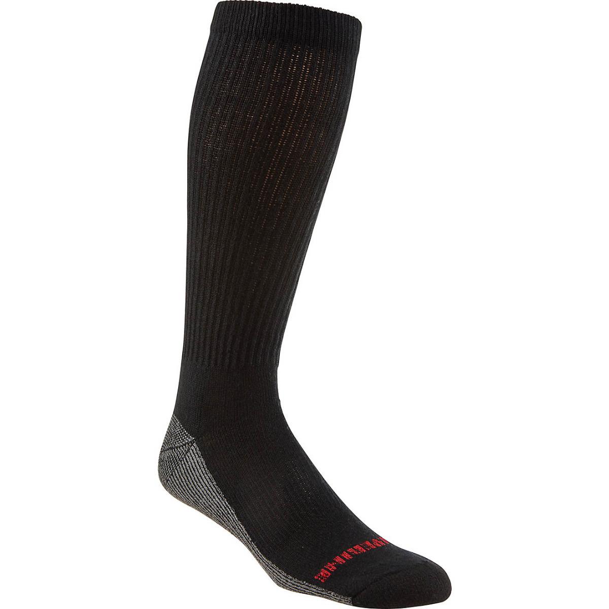 Wolverine Men's Over-the-Calf Steel Toe Boot Socks 6 Pack
