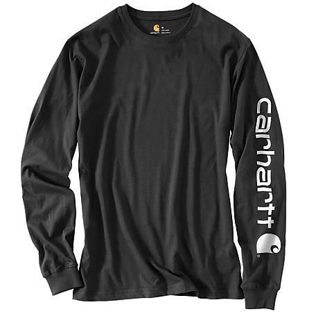 Carhartt Men's Workwear Long-Sleeve Graphic Logo T-Shirt