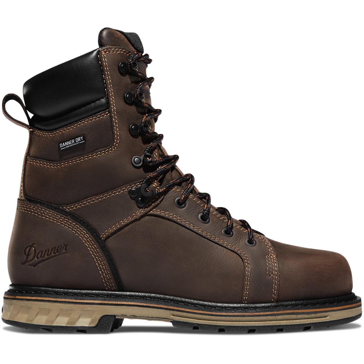 """Danner Steel Yard 8"""" Brown Steel Toe"""