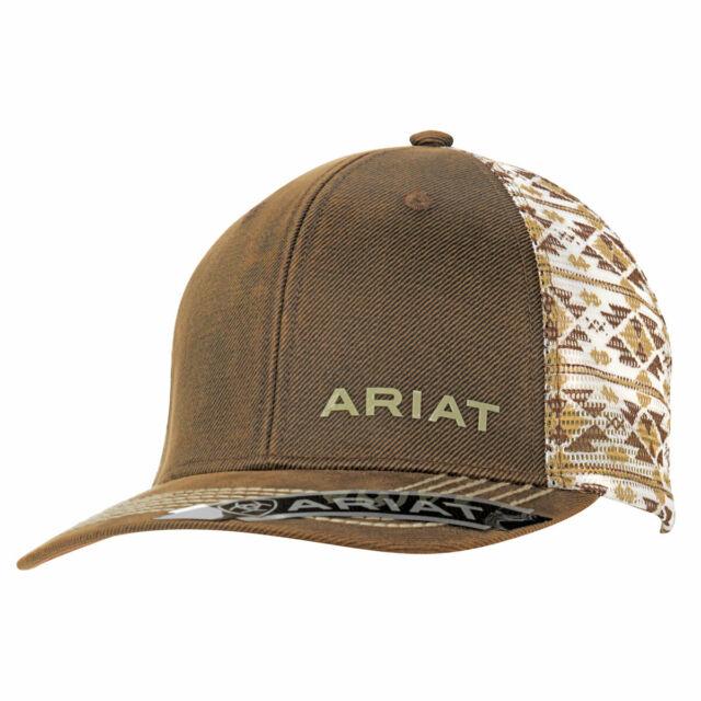 Ariat Snap Hat Aztec Brown/White