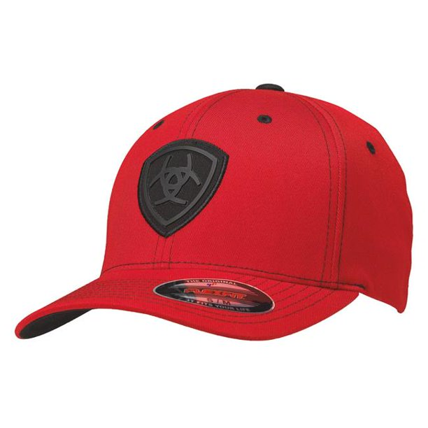 Ariat Flexfit Fitted Hat Red