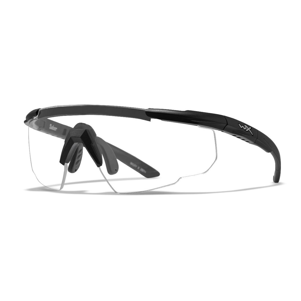 WILEY X Saber Advanced Sunglasses - Clear Lens / Matte Black Frame