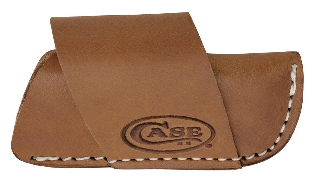 CASE Medium Leather Side-Draw Belt Sheath