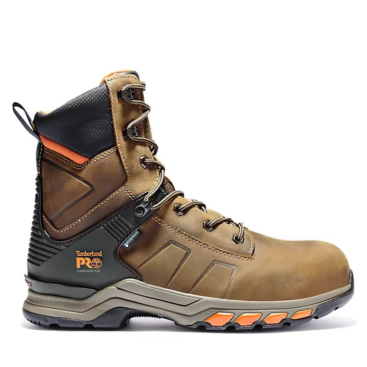 """Timberland PRO Hypercharge 8"""" Comp Toe Work Boots"""