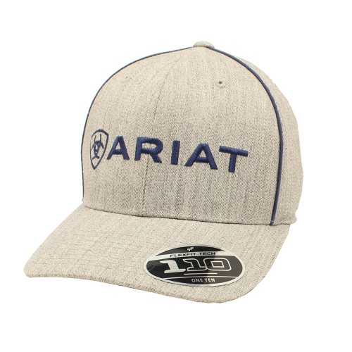 Ariat Snap Hat Blue and White
