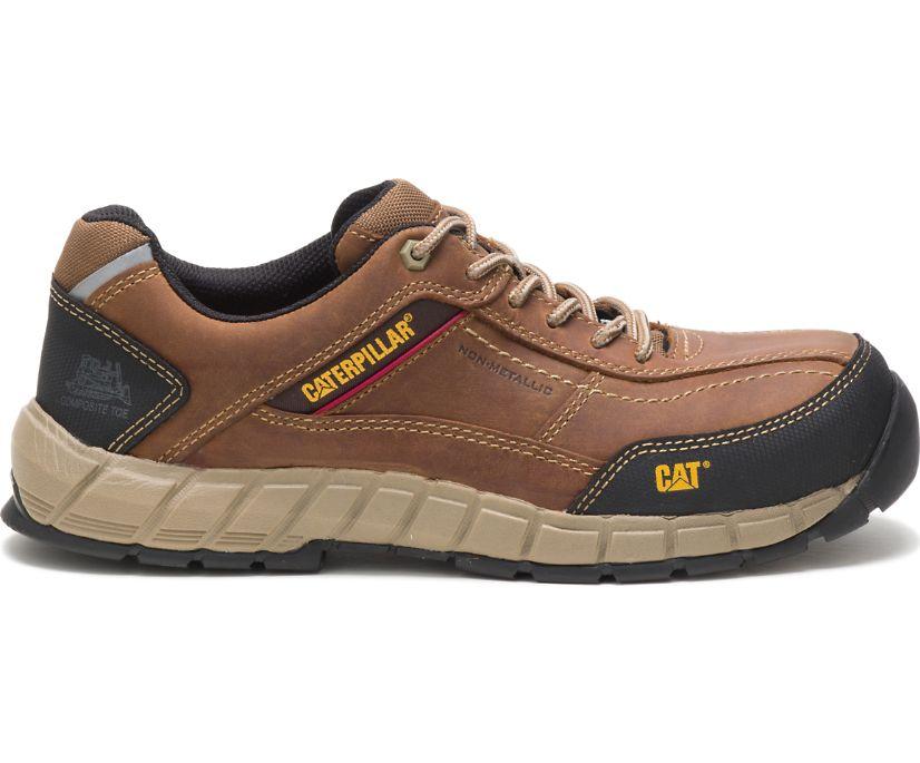 Cat Men's Streamline Leather Composite Toe Work Shoe