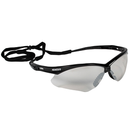 Kimberly-Clark Professional* KleenGuard™ Nemesis* Black Safety Glasses With Clear Indoor/Outdoor Hard Coat Lens