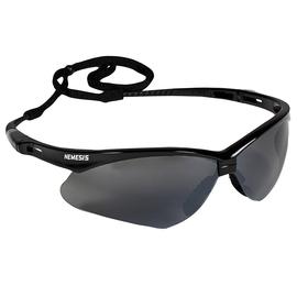 Kimberly-Clark Professional* KleenGuard™ Nemesis* Black Safety Glasses With Smoke Mirror/Hard Coat Lens