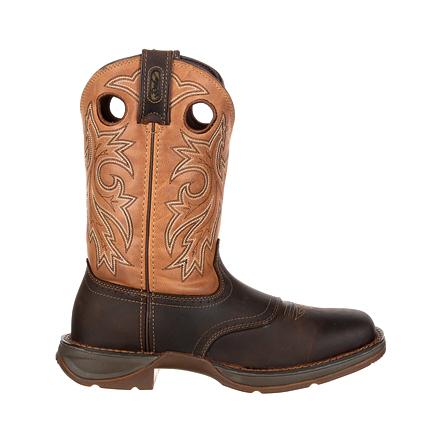 Rebel by Durango Steel Toe Pull-On Waterproof Western Boot