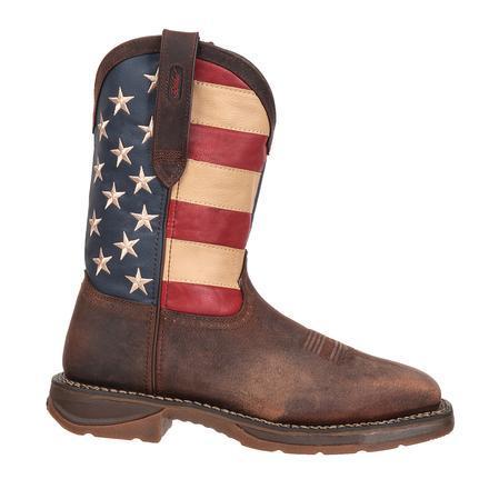 Rebel by Durango Steel Toe Flag Western Flag Boot