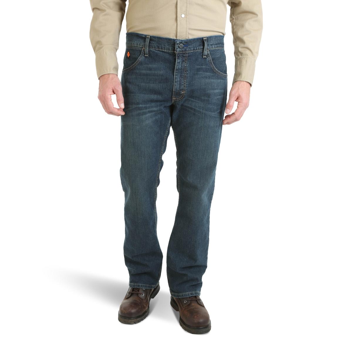 Wrangler® FR Flame Resistant Advanced Comfort Caden Slim Boot Jean