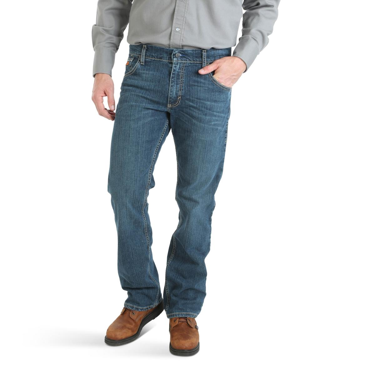 Wrangler® FR Flame Resistant Advanced Comfort Slim Boot Jean
