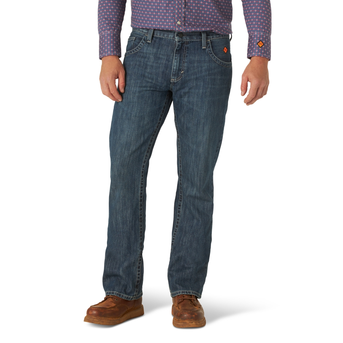 Wrangler® FR Flame Resistant 20X Vintage Odessa Boot Jean
