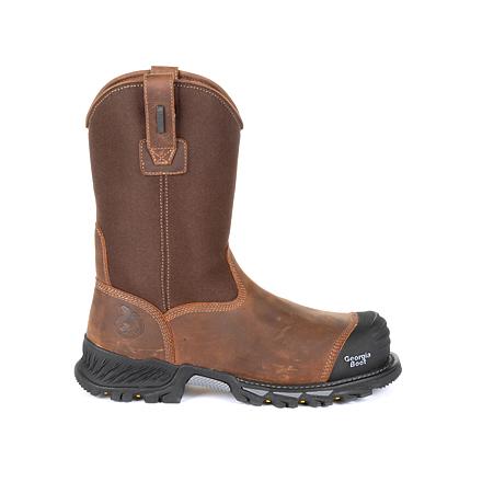 Georgia Boot Rumbler Composite Toe Waterproof Pull-on Work Boot