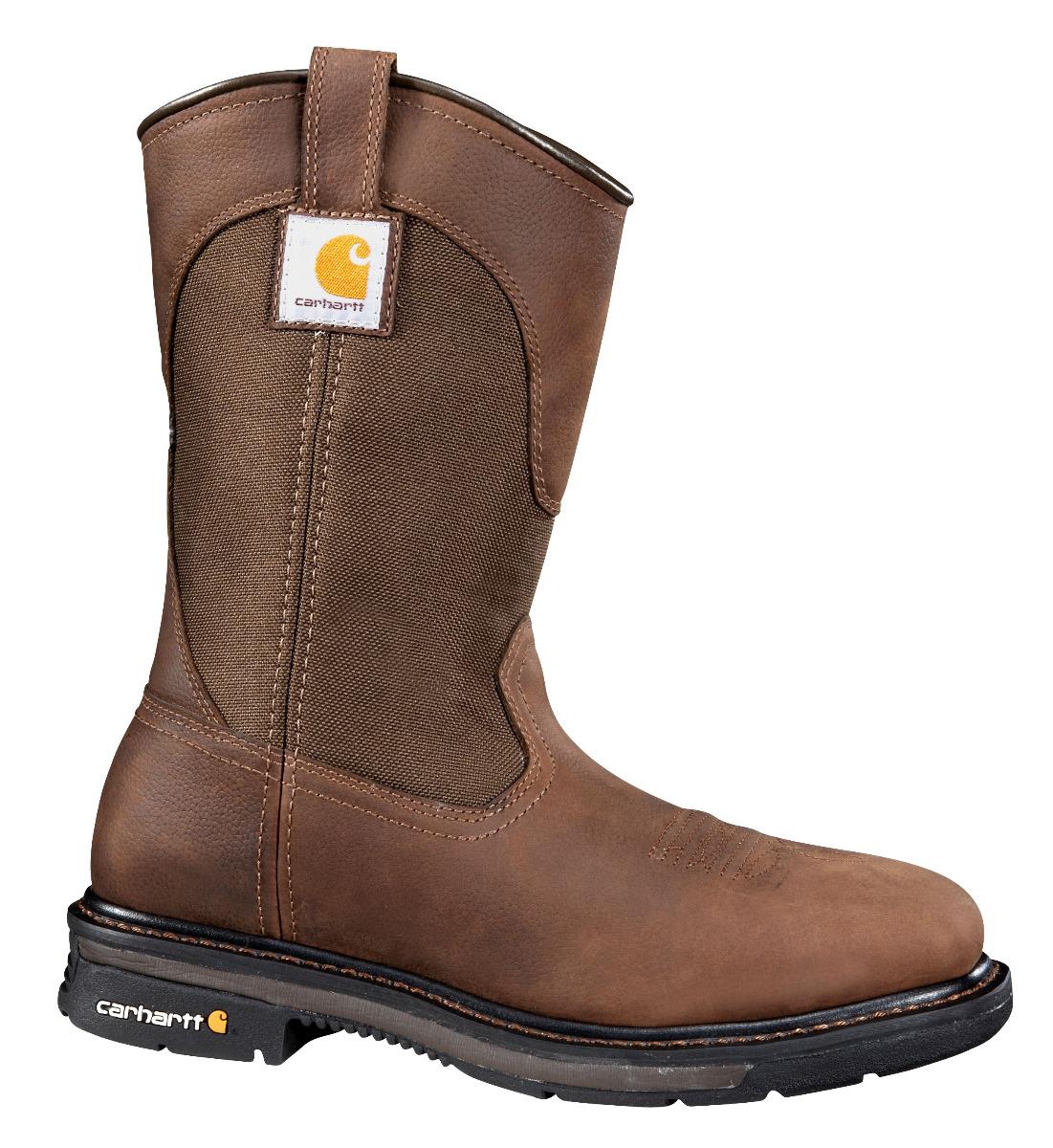 Carhartt 11-Inch Square Steel Toe Wellington Boot