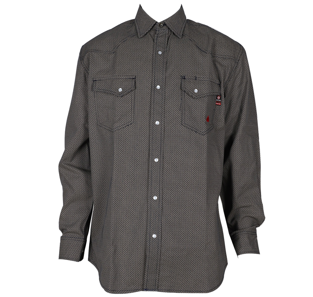 Forge FR Plaid & Print Shirt