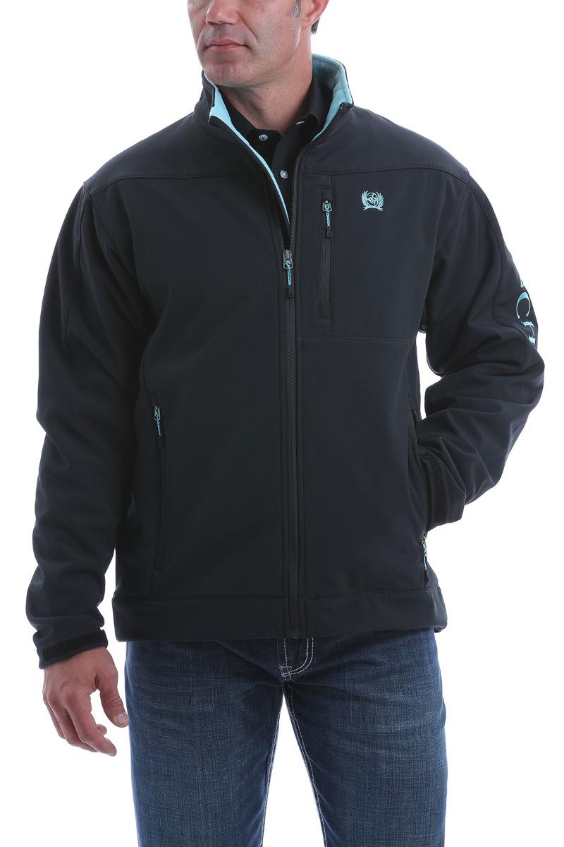 Cinch Men's Solid Bonded Jacket OW20 - BLK