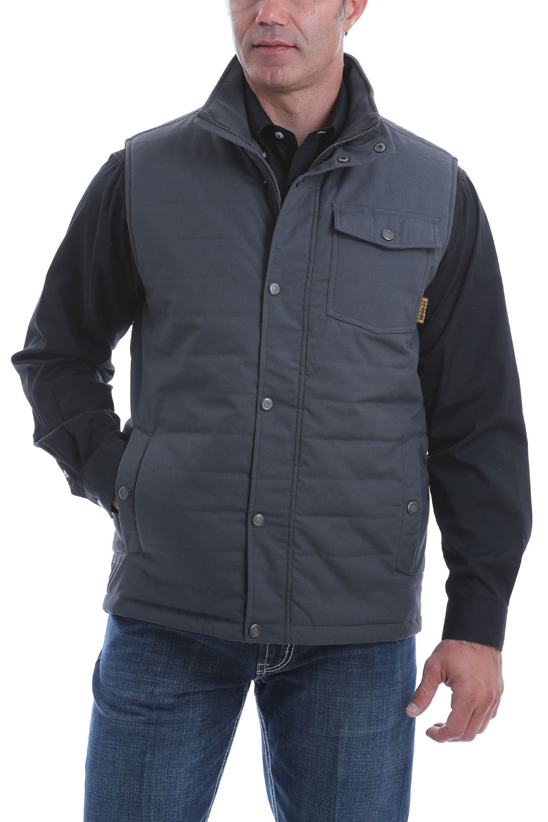 Cinch Men's Solid Quilted Vest OW20 - CHR