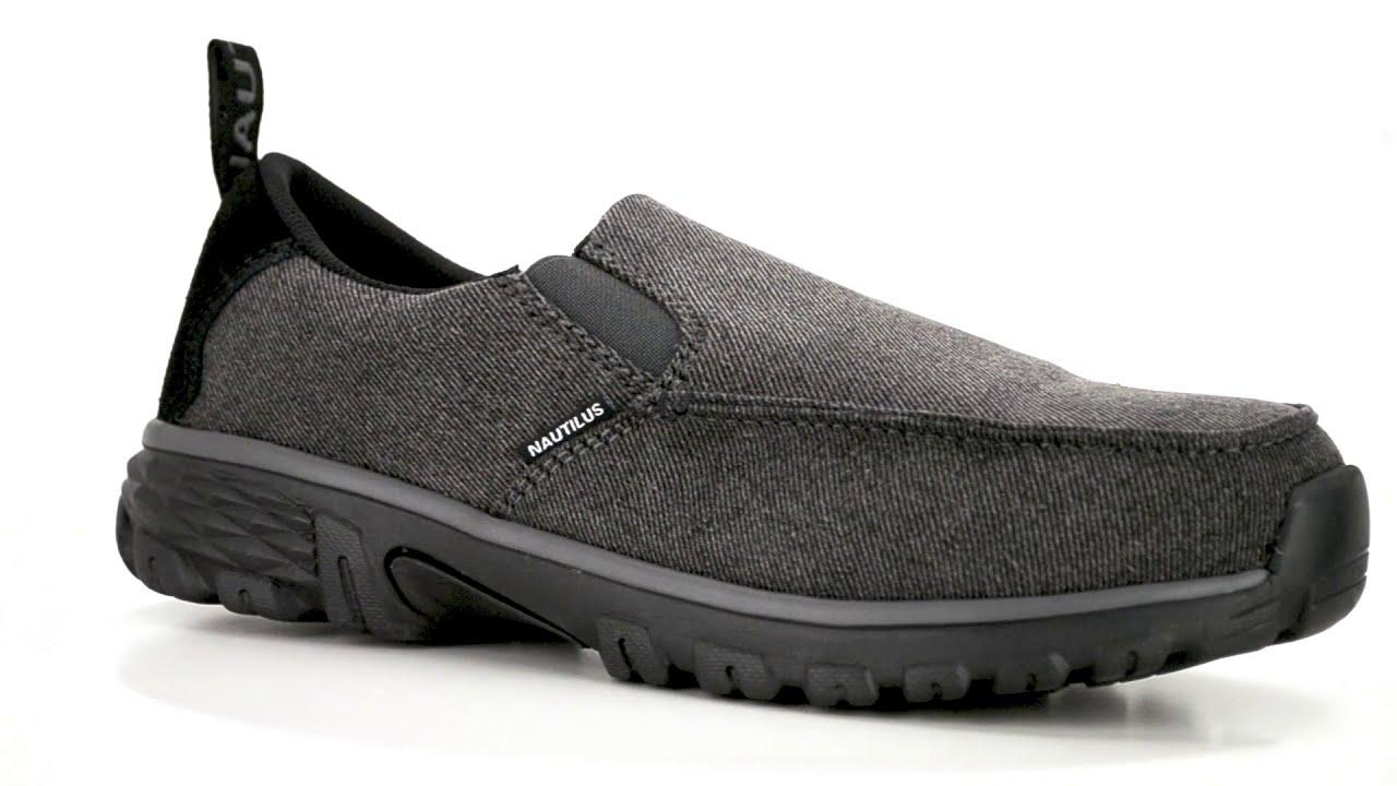 Nautilus Men's Alloy Toe Slip On Work Shoe