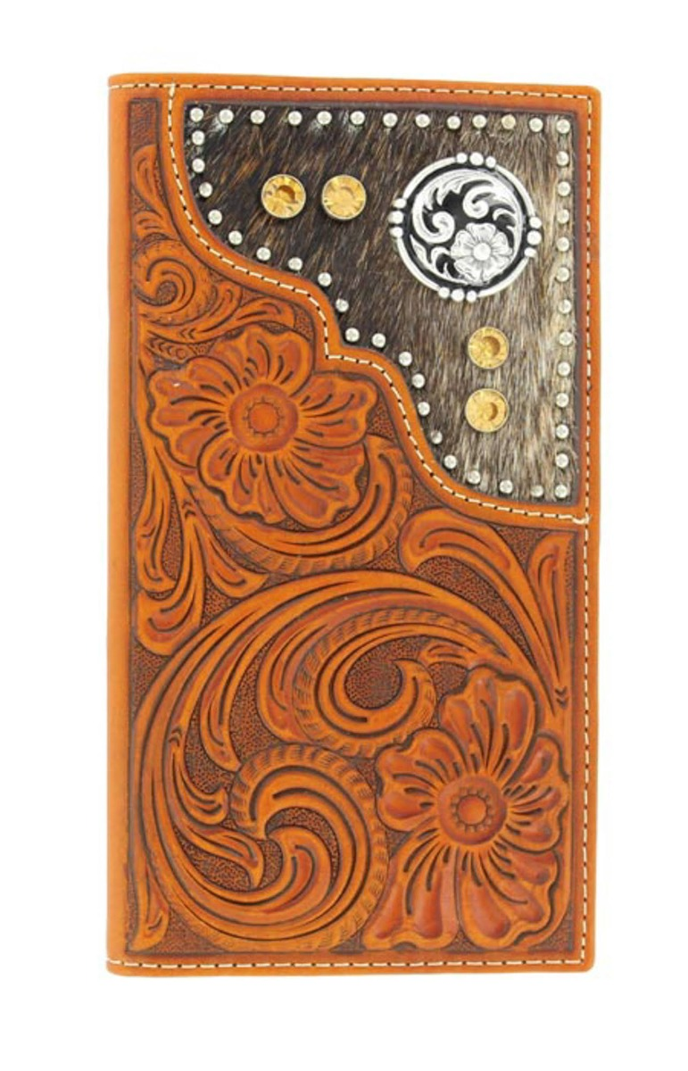 RODEO WALLET GOLD JEWELS