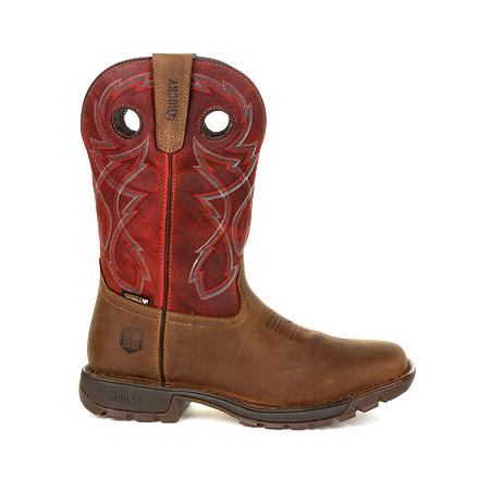 Rocky Legacy 32 Waterproof Western Red Top Boot