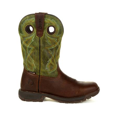 Rocky Legacy 32 Waterproof Western Green Top Boot