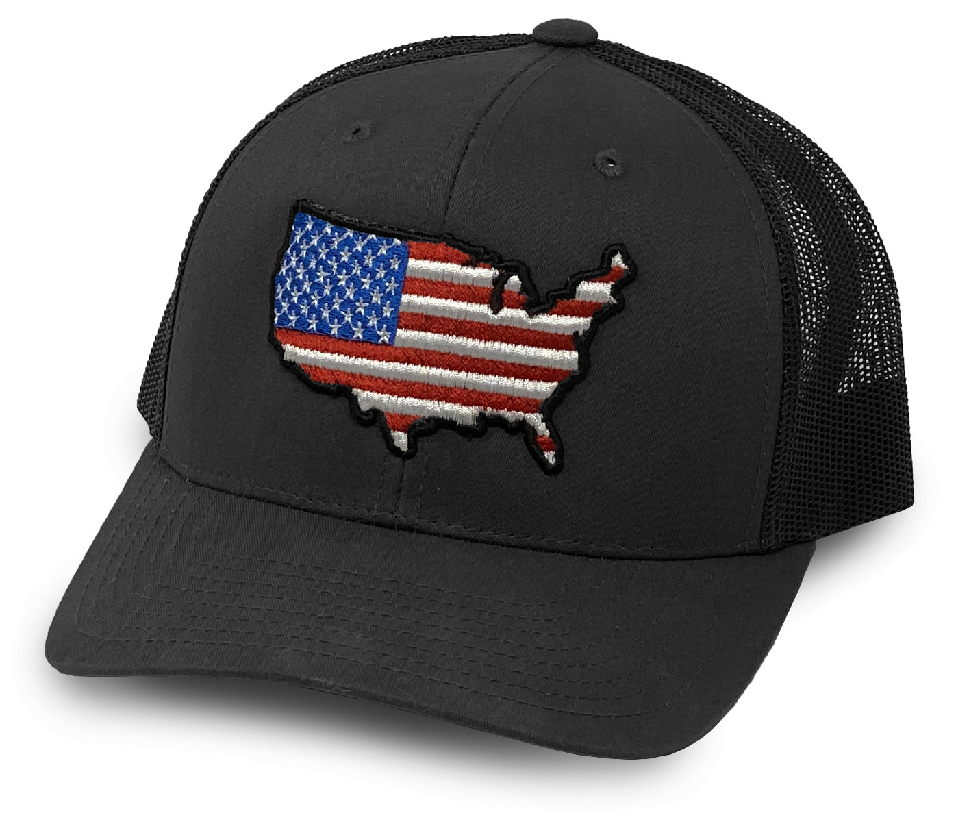 Oilfield Hats Gray/Black US