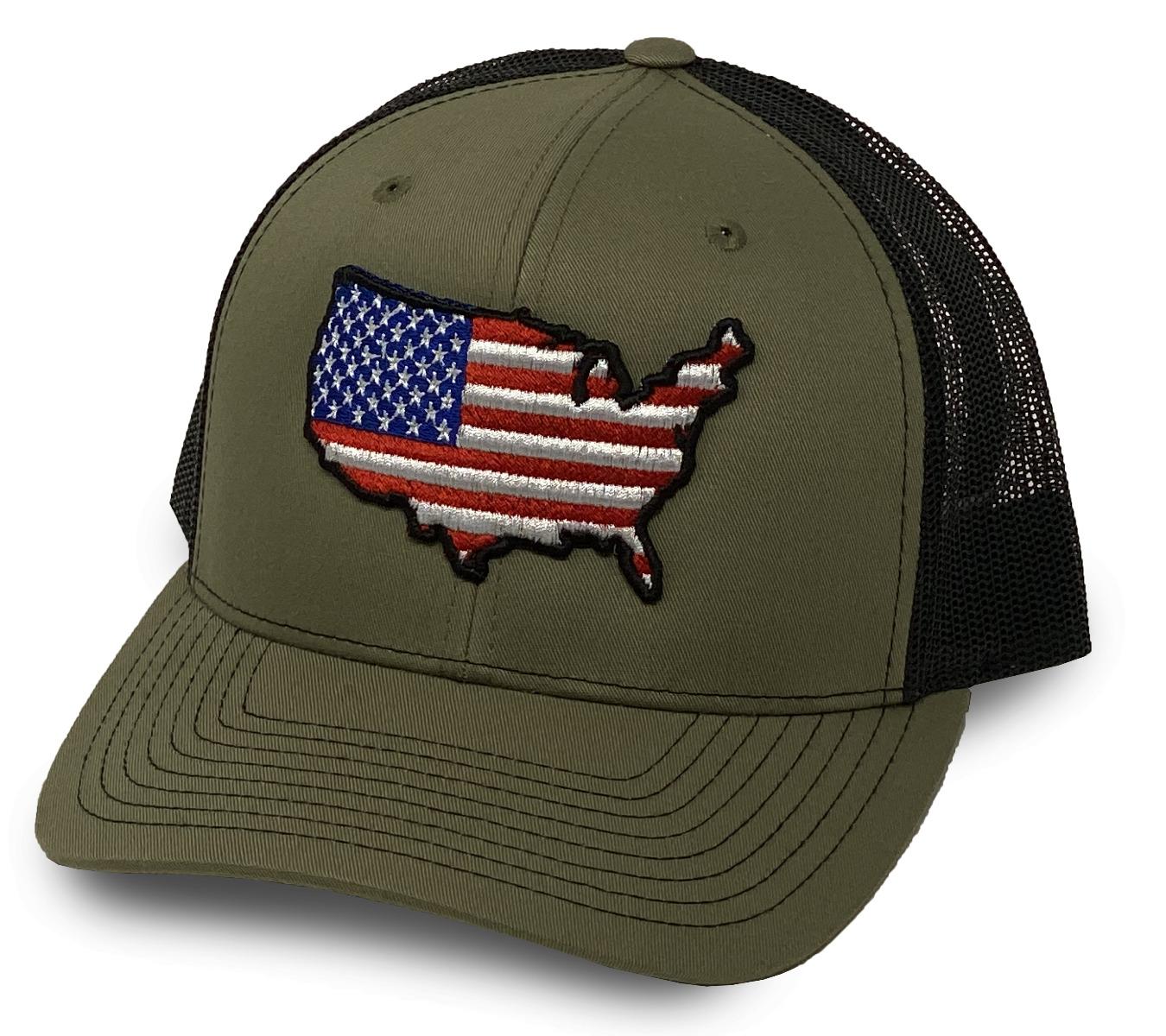 Oilfield Hats Loden/Black US