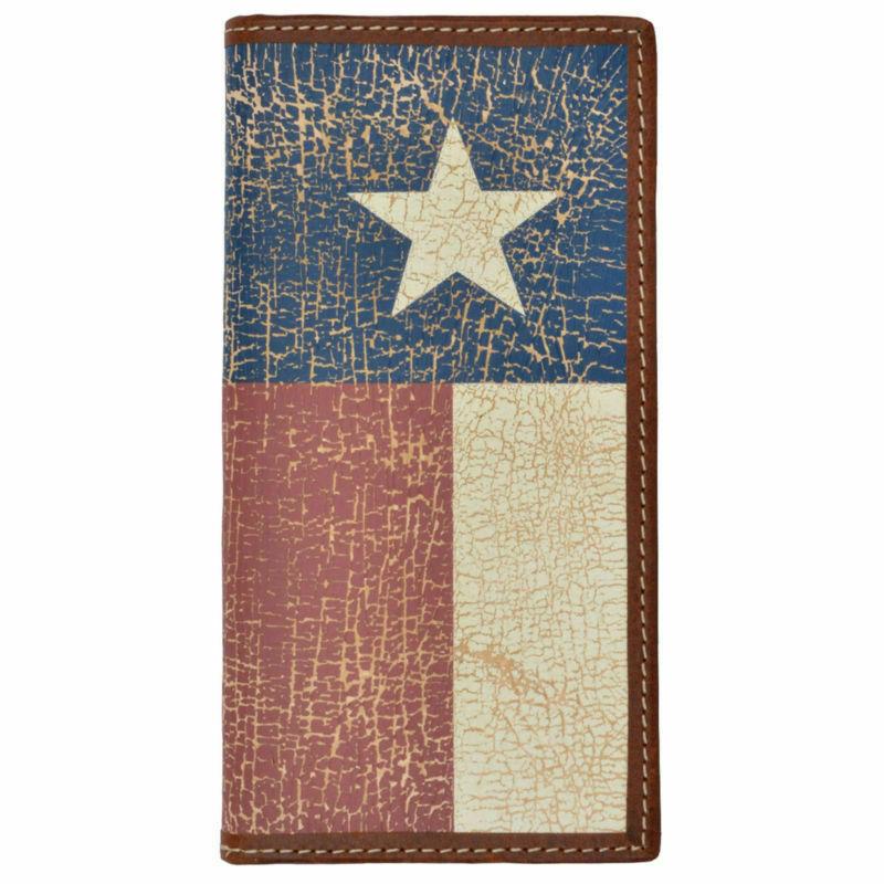 3D Belt Company Texas Flag Western Rodeo Wallet