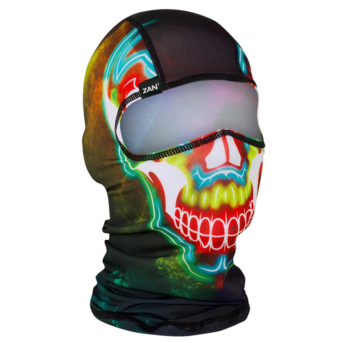 ZAN Polyester Balaclava Electric Skull