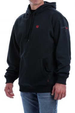 Cinch Men's FR Pullover Hoodie 2/20 - BLK